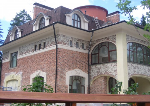 Private residence, Moscow region, mosaic